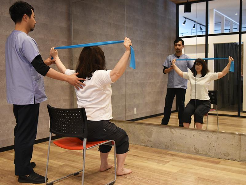 運動機能の回復をサポート